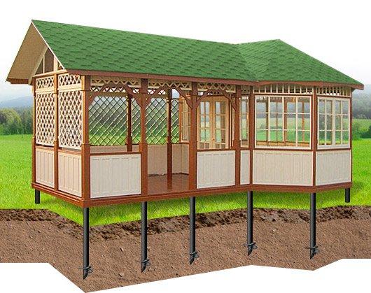 садовый павильон